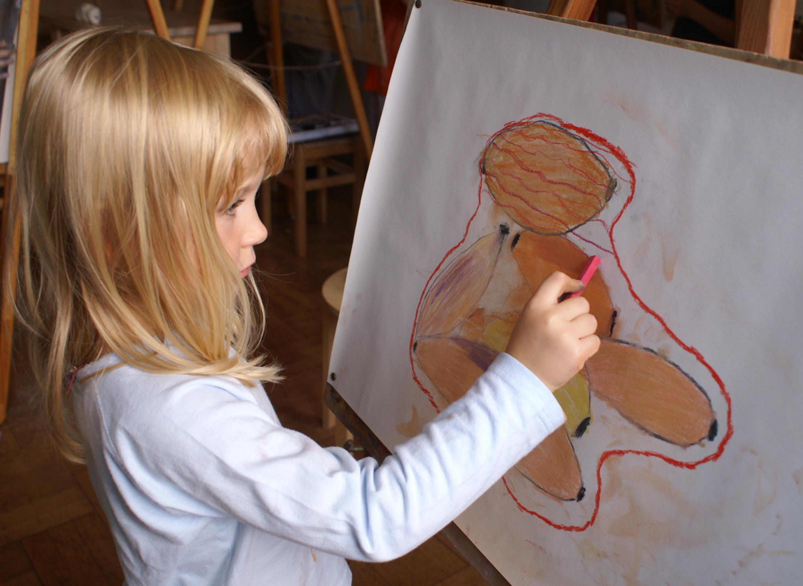 nácvik kresby pastelem
